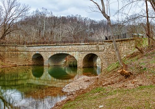 Catoctin Aqueduct restored