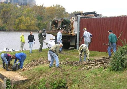Volunteers at Tidelock