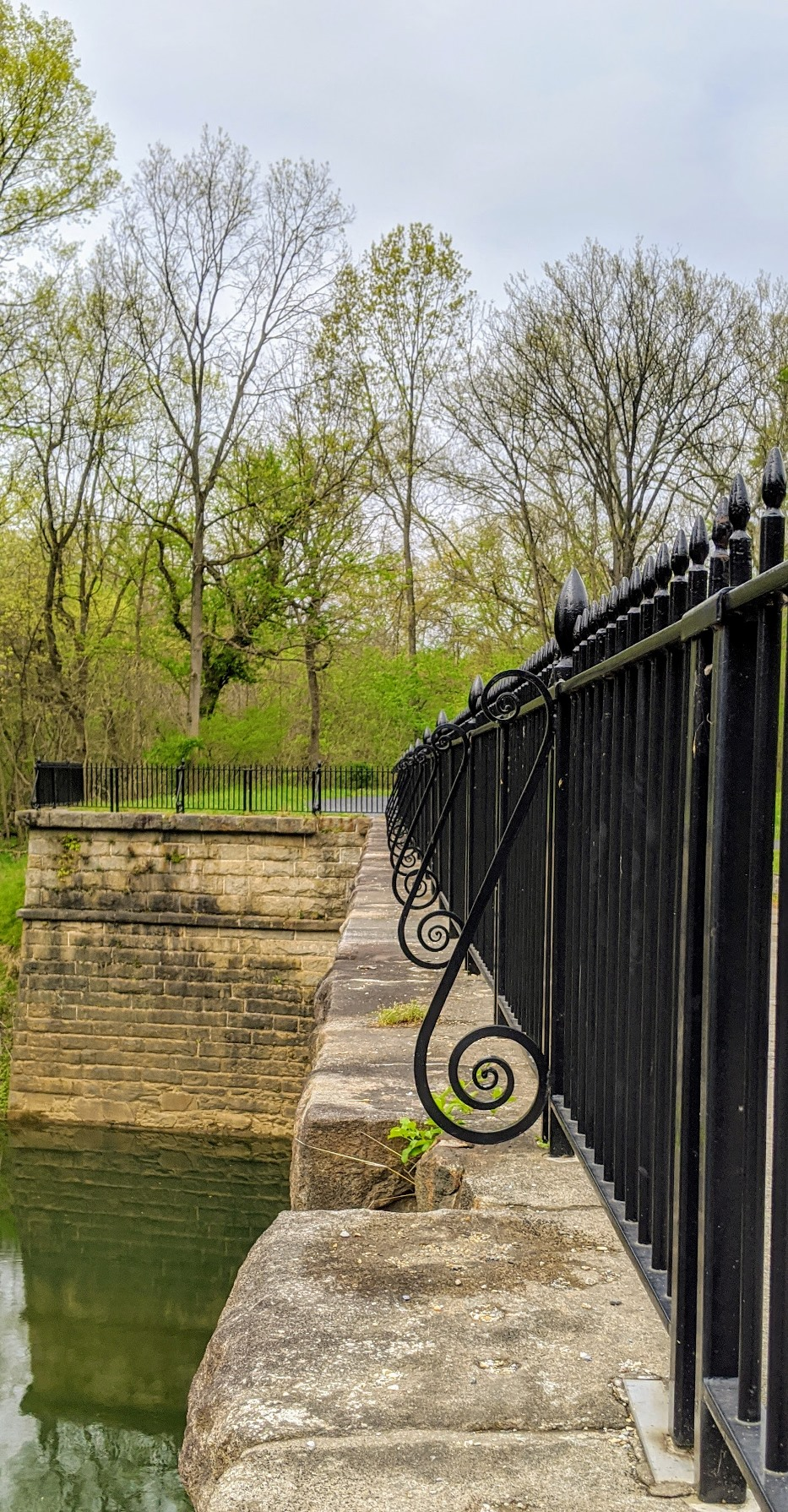 Railing on Catoctin Aqueduct