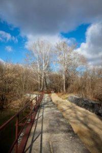 Towpath across Antietam Aqueduct
