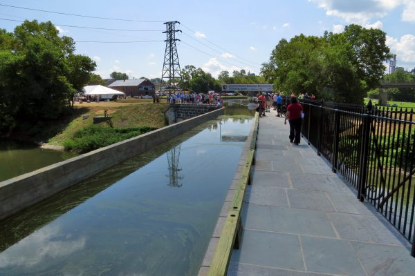 Rewatered Conococheague Aqueduct