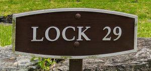 Lock 29 sign